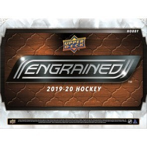 2019/20 Upper Deck Engrained Hockey Hobby 5 Box Case