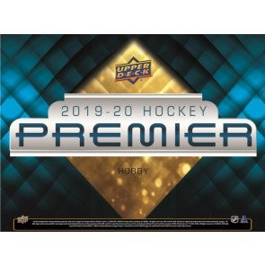 2019/20 Upper Deck Premier Hockey Hobby 5 Box Case
