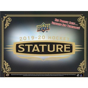 2019/20 Upper Deck Stature Hockey Hobby Box