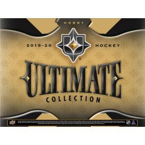 2019/20 Upper Deck Ultimate Collection Hockey Hobby 8 Box Case