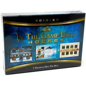 2019/20 Leaf In The Game (ITG) Game Used Hockey 10 Box Case