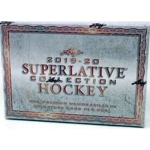 2019/20 Leaf Superlative Hockey 12 Box Case