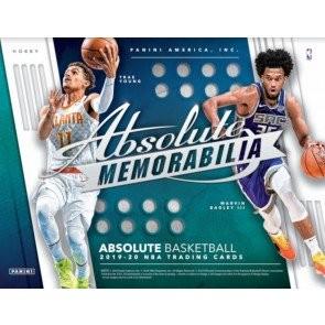 2019/20 Panini Absolute Memorabilia Basketball Hobby Box