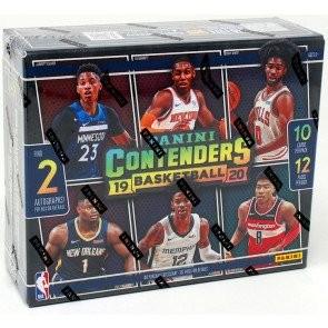 2019/20 Panini Contenders Basketball Hobby 12 Box Case
