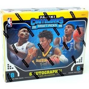 2019/20 Panini Contenders Draft Basketball Hobby 12 Box Case