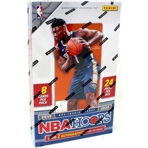 2019/20 Panini NBA Hoops Basketball Hobby 20 Box Case