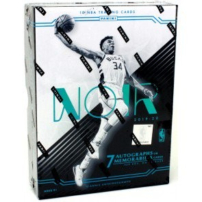 2019/20 Panini Noir Basketball Hobby 4 Box Case