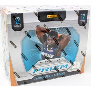 2019/20 Panini Prizm Basketball Hobby 12 Box Case