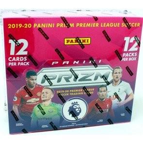 2019/20 Panini Prizm English Premier League Soccer Hobby 12 Box Case