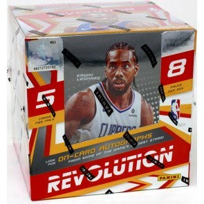 2019/20 Panini Revolution Basketball Hobby 16 Box Case