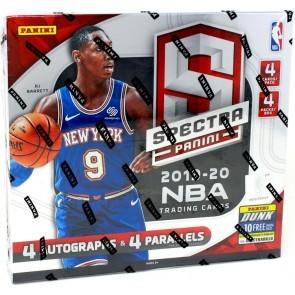 2019/20 Panini Spectra Basketball Hobby 8 Box Case