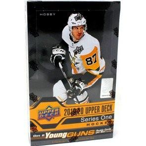 2019/20 Upper Deck Series 1 Hockey Hobby Box