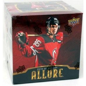 2019/20 Upper Deck Allure Hockey Hobby 10 Box Case