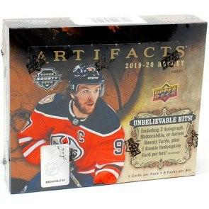 2019/20 Upper Deck Artifacts Hockey Hobby 20 Box Case