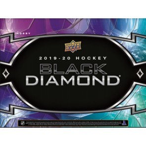 2019/20 Upper Deck Black Diamond Hockey Hobby 5 Box Case