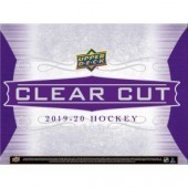 2019/20 Upper Deck Clear Cut Hockey Hobby 15 Box Case