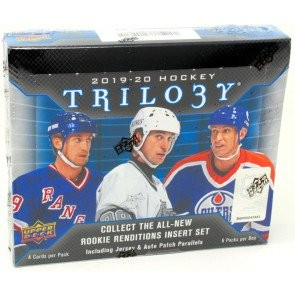 2019/20 Upper Deck Trilogy Hockey Hobby 10 Box Case