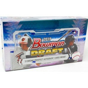 2019 Bowman Draft Baseball Jumbo Box