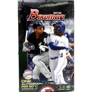2019 Bowman Baseball Hobby 12 Box Case