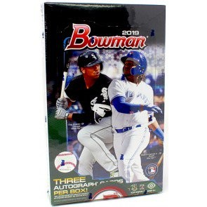 2019 Bowman Baseball Jumbo HTA 8 Box Case