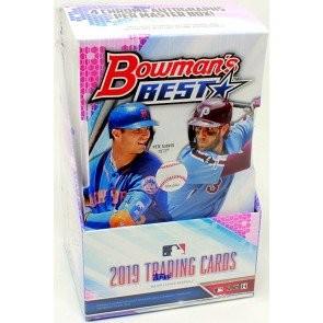 2019 Bowman's Best Baseball Hobby 8 Box Case