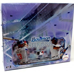2019 Bowman Sterling Baseball Hobby 12 Box Case