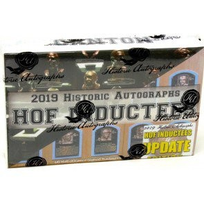 2019 Historic Autographs Hall Of Fame Inductees Update Box