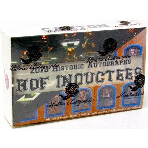 2019 Historic Autographs Hall Of Fame Inductees Box