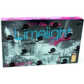 2019 Historic Autographs Limelight Signatures Box