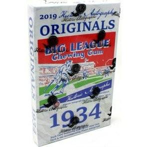 2019 Historic Autographs Originals 1934 Baseball Box