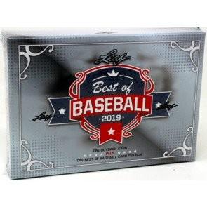 2019 Leaf Best of Baseball Box