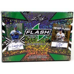 2019 Leaf Flash Baseball Hobby 12 Box Case