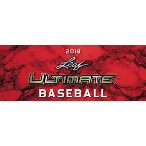 2019 Leaf Ultimate Baseball Hobby 12 Box Case