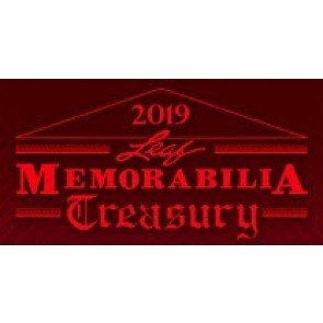 2019 Leaf Memorabilia Treasury Box Break (Random Item) #1