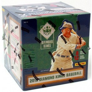 2019 Panini Donruss Diamond Kings Baseball Hobby 12 Box Case