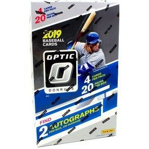 2019 Panini Donruss Optic Baseball Hobby 12 Box Case