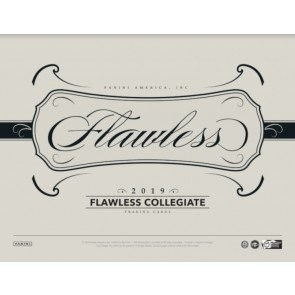 2019 Panini Flawless Collegiate Football Hobby Box