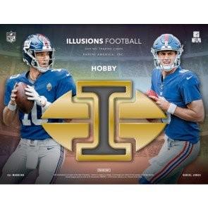 2019 Panini Illusions Football Hobby 16 Box Case