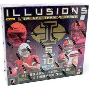 2019 Panini Illusions Football Hobby 8 Box Case