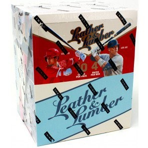 2019 Panini Leather and Lumber Baseball Hobby 10 Box Case