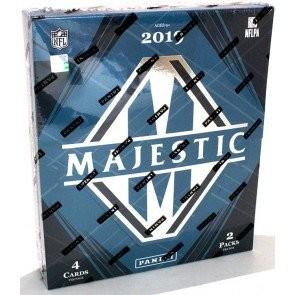 2019 Panini Majestic Football Hobby 6 Box Case
