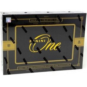 2019 Panini One Football Hobby 20 Box Case