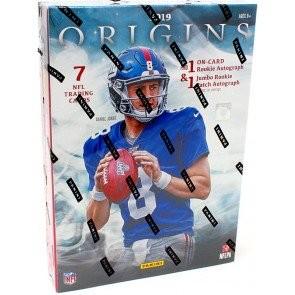 2019 Panini Origins Football Hobby 16 Box Case
