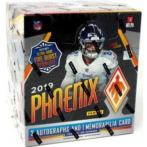 2019 Panini Phoenix Football Hobby 16 Box Case