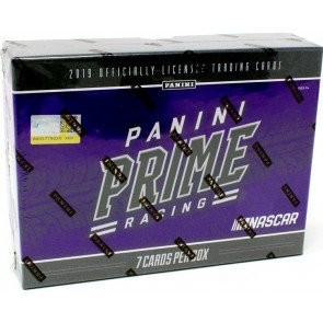 2019 Panini Prime Racing Hobby 8 Box Case
