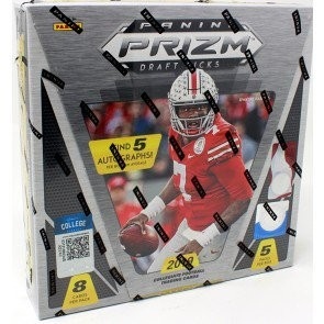 2019 Panini Prizm Collegiate Draft Picks Football Hobby 16 Box Case