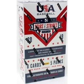 2019 Panini Stars and Stripes Baseball Hobby Box