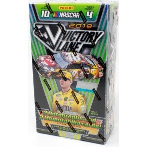 2019 Panini Victory Lane Racing Hobby 8 Box Case