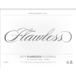 2019 Panini Flawless Football Hobby 2 Box Case