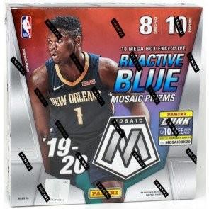 2019/20 Panini Mosaic Basketball Mega Box